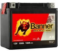 Мото аккумулятор Banner 10 Ач 150x87x131