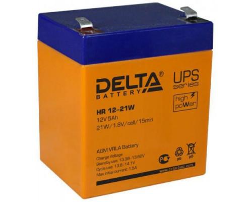 Аккумулятор Delta HR 12-21 W