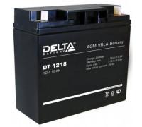 Аккумулятор Delta DT 1218 (12 вольт 18 ампер)