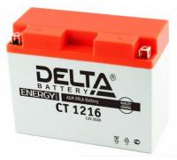 Аккумулятор Delta CT 1216 (YB16AL-A2) (12 вольт 16 ампер)