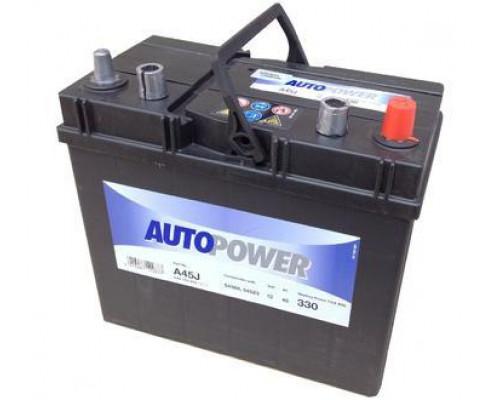 Автомобильный аккумулятор  Autopower 45 Ач
