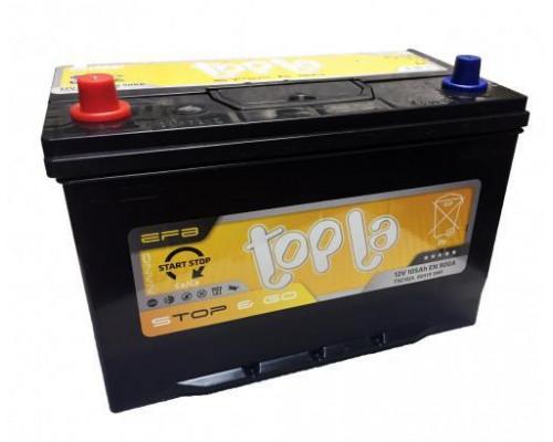 Автомобильный аккумулятор  Topla 105 Ач