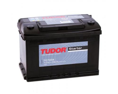 Автомобильный аккумулятор  Tudor 74 Ач