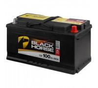 Автомобильный аккумулятор  Black Horse 100 Ач 353x175x190