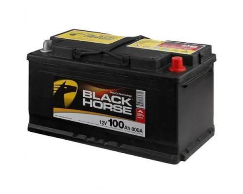 Автомобильный аккумулятор  Black Horse 100 Ач