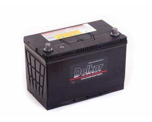 Автомобильный аккумулятор  Delkor 90 Ач