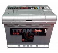 Автомобильный аккумулятор  Titan 60 Ач 242x175x190