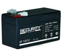 Аккумулятор для ИБП/UPS Security Force SF 12012 (12 вольт 1.2 а.ч)