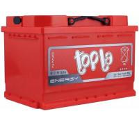 Автомобильный аккумулятор  Topla 75 Ач 278x175x190