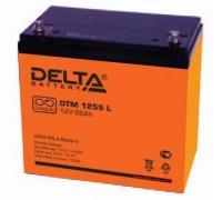 Аккумулятор Delta DTM 1255 L (12 вольт 55 а.ч)