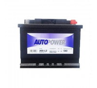 Автомобильный аккумулятор  Autopower 60 Ач 242x175x175