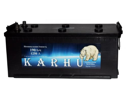 Грузовой аккумулятор Karhu 190 Ач