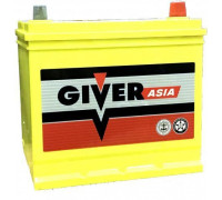 Автомобильный аккумулятор  Giver 65 Ач 230x175x225