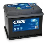 Автомобильный аккумулятор  Exide 62 Ач 242x175x190