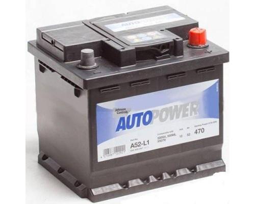 Автомобильный аккумулятор  Autopower 52 Ач
