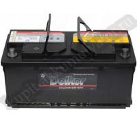 Автомобильный аккумулятор  Delkor 110 Ач 394x175x190
