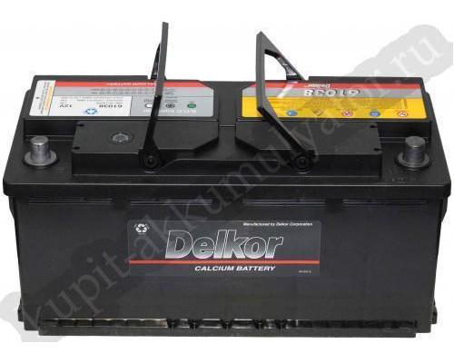 Автомобильный аккумулятор  Delkor 110 Ач