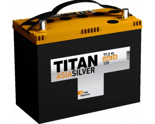 Автомобильный аккумулятор  Titan 77 Ач