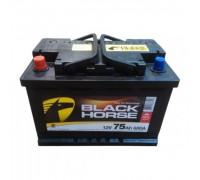 Автомобильный аккумулятор  Black Horse 75 Ач 278x175x190
