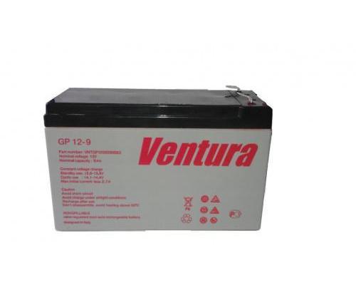 Аккумулятор для ИБП/UPS Ventura GP 1209 (12 вольт 9 ач)