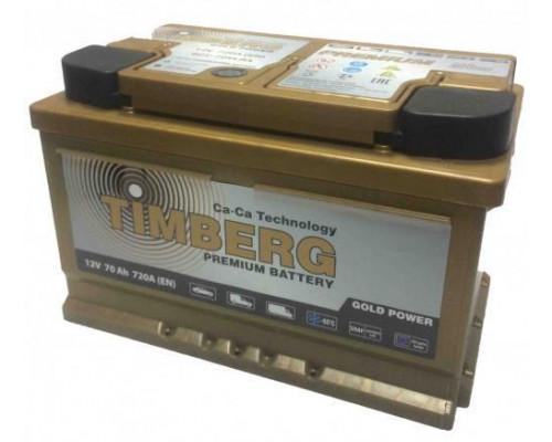 Автомобильный аккумулятор  Timberg 70 Ач