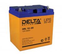 Аккумулятор Delta HRL 12-26 X(12 вольт 28 а.ч)