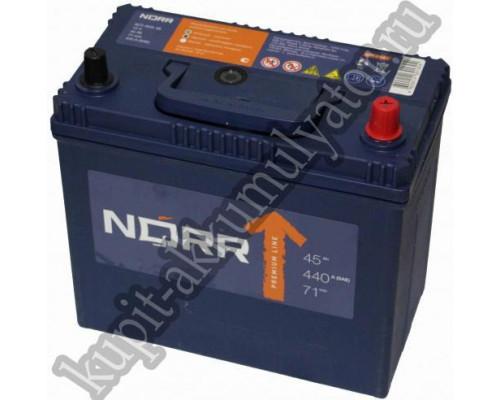 Автомобильный аккумулятор  Norr 45 Ач