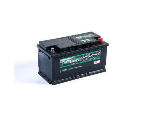 Автомобильный аккумулятор GIGAWATT  100 А.ч Обратная полярность