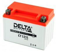 Мото аккумулятор Delta 11 Ач 151x86x112