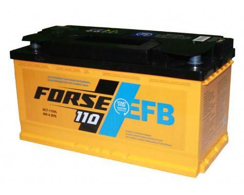 Автомобильный аккумулятор  Forse 110 Ач