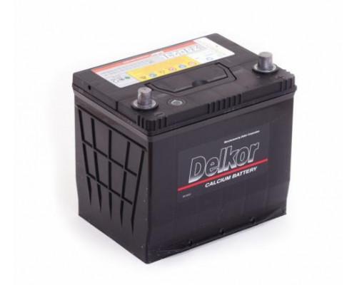 Автомобильный аккумулятор  Delkor 60 Ач