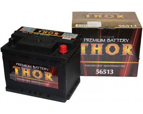 Автомобильный аккумулятор  Thor 65 Ач