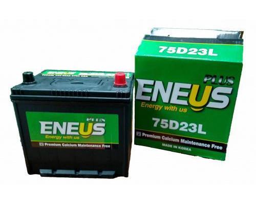 Автомобильный аккумулятор  Eneus 65 Ач