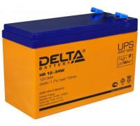 Аккумулятор Delta HR 12-34 W 12 вольт 9 ампер