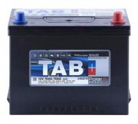 Автомобильный аккумулятор  Tab 70 Ач 260x175x225