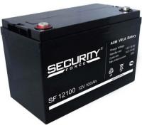 Автомобильный аккумулятор  Security Force 100 Ач 330x173x220