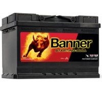 Автомобильный аккумулятор  Banner 72 Ач 278x175x190