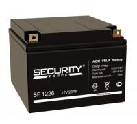 Аккумуляторы для ИБП/UPS Security Force SF 1226 (12 вольт 26 ач)