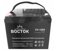 Аккумулятор ВОСТОК СК 1255 (12 вольт 55 а.ч)