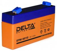 Аккумулятор для ИБП/UPS Delta DTM 6012 (6 вольт 1.2 ач)