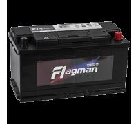 Автомобильный аккумулятор  Flagman 105 Ач 353x175x190