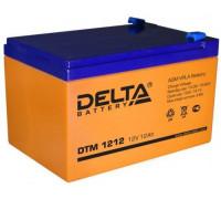 Аккумулятор Delta DTM 1212 (12 вольт 12 ач)