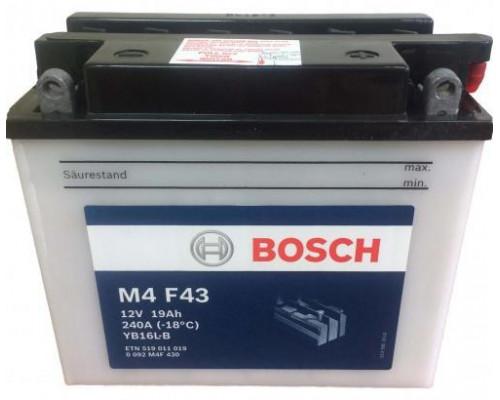 Мото аккумулятор Bosch 19 Ач