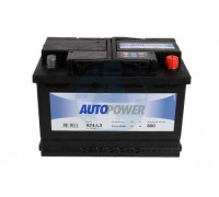 Автомобильный аккумулятор  Autopower 75 Ач 278x175x190