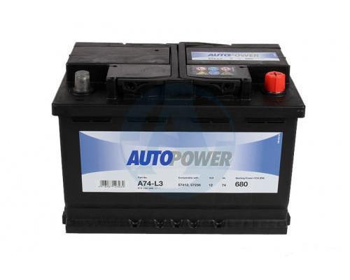Автомобильный аккумулятор  Autopower 75 Ач
