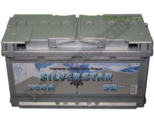 Автомобильный аккумулятор  Silverstar 90 Ач