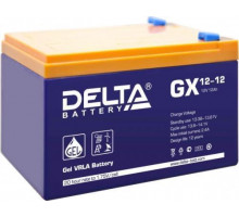 Аккумулятор  Delta GX 12-12 (12 вольт 12 а.ч)