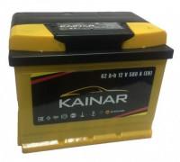 Автомобильный аккумулятор  Kainar 62 Ач 242x175x195
