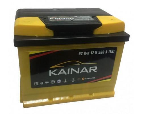 Автомобильный аккумулятор  Kainar 62 Ач