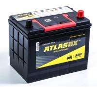 Автомобильный аккумулятор  Atlas 72 Ач 260x173x220